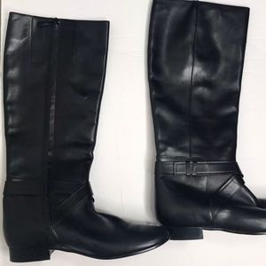 Cole Haan Russell Women's 8.5 Leather Riding Boots